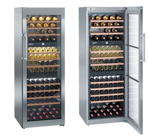 WS 17800 - Three-zone Freestanding Wine Cabinet by Liebherr