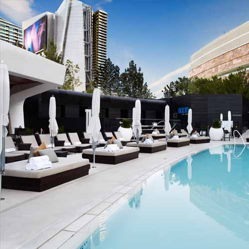 Liquid Pool Lounge at Aria Resort & Casino - Las Vegas