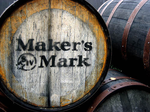 Maker's Mark bourbon barrel