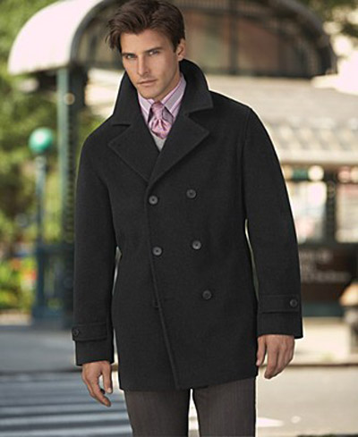 Jackets   Fashion on Pea Coat  Classic Men   S Winter Fashion     Stay Warm  Wear A Pea