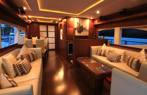 Midas Touch - luxury yacht