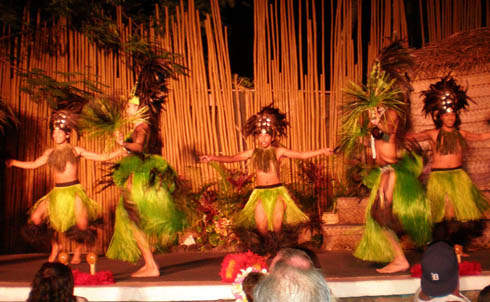 Myths of Maui - Luau dance - Royal Lahaina Resort