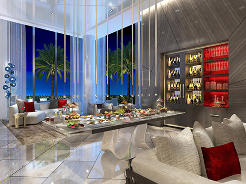 Parque Towers concierge lounge - Miami