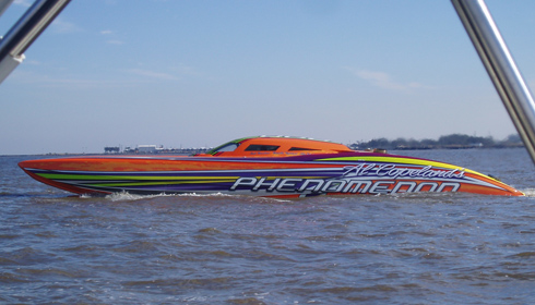 Courtesy of Copeland Fastest Speedboat In The World