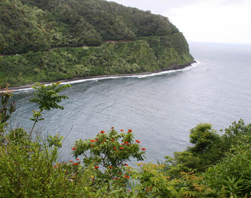 Road to Hana - Maui coast