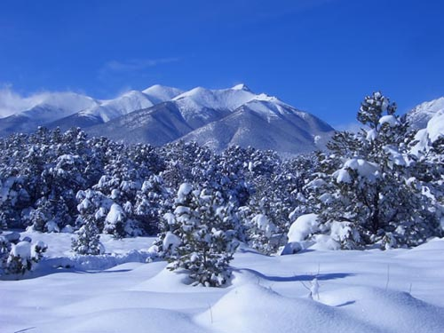 Rocky Mountains - Colorado snow