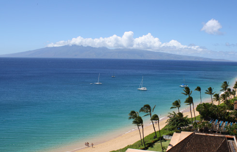 Royal Lahaina Resort Balcony View Of Pacific Ocean