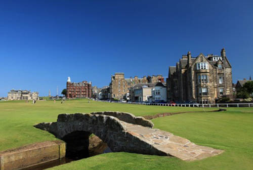 Saint Andrews golf course - Scotland