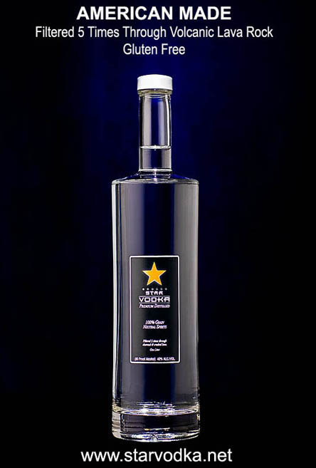 Star Vodka - Gluten-free