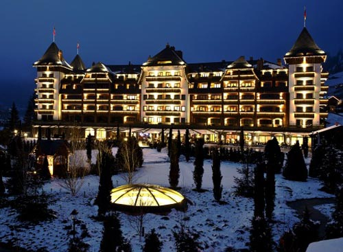 The Alpina hotel in Gstaad, Switzerland