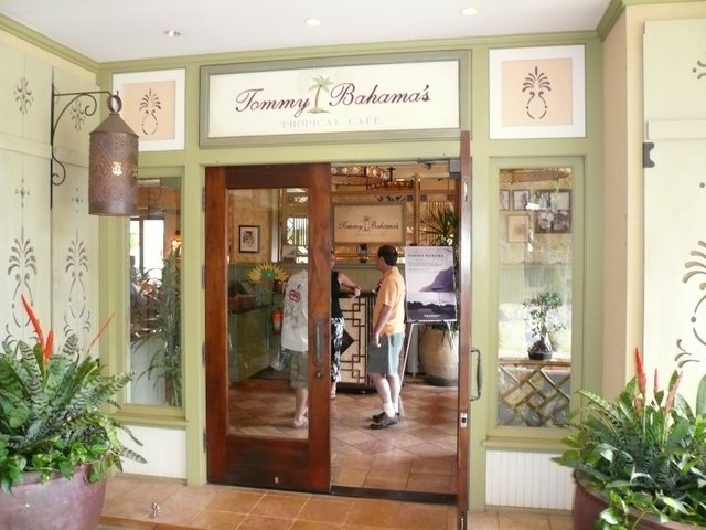 Tommy Bahama's Tropical Cafe – Mauna Lani Shops, Kona | The Life ...