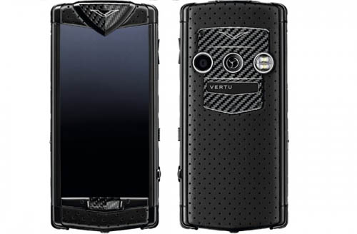 Vertu Constellation Black Neon luxury mobile phone