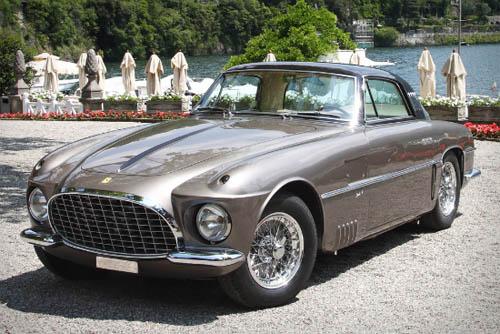 1953 Ferrari 250 Europa Coupé Vignale sports car