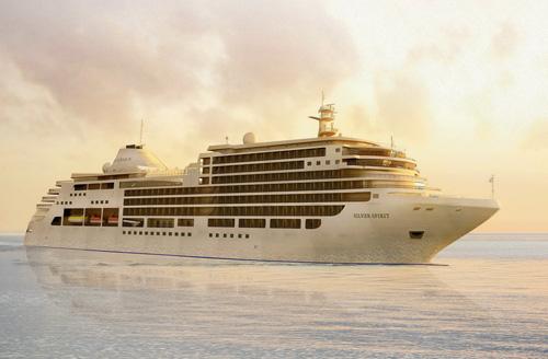 Silversea Silver Spirit cruise ship