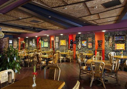 Tiki's Grill and Bar at the Aston Waikiki Beach Hotel