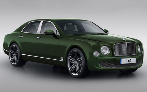 2013 Bentley Mulsanne Le Mans Edition car