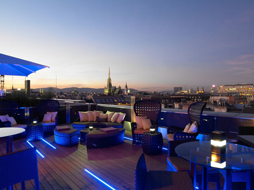 The Ritz-Carlton, Vienna rooftop view