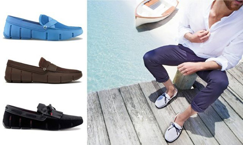Swim loafers shoes