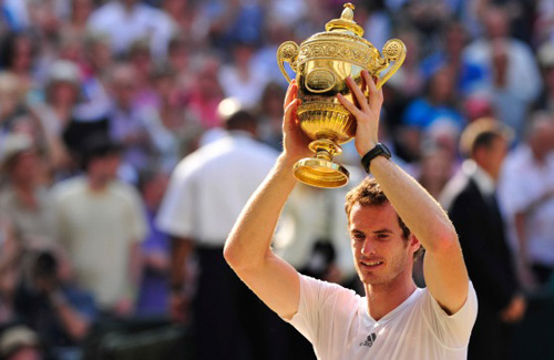 Andy Murray - 2013 Wimbledon tennis men's champion