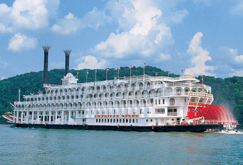 American Queen Steamboat - world's largest