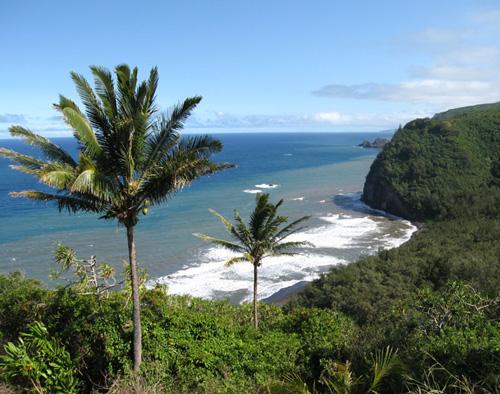Pololu Valley & Pololu Beach - Big Island, Hawaii