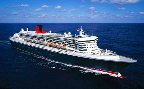 QE2 luxury cruise ship