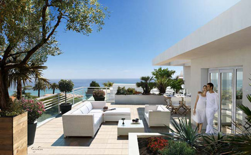 French Riviera luxury penthouse