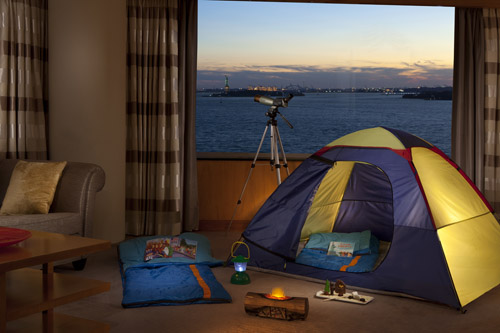 Ritz-Carlton New York, Battery Park - indoor campout package
