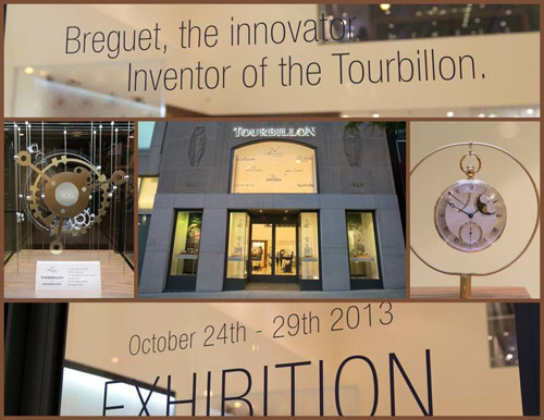 "Breguet the Innovator. Inventor of the Tourbillon"" watch exhibit"