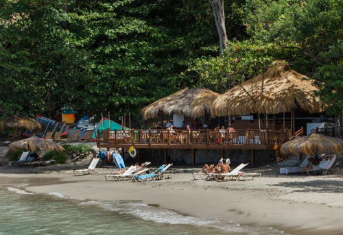 The Naked Fisherman Beach Bar and Grill - Saint Lucia