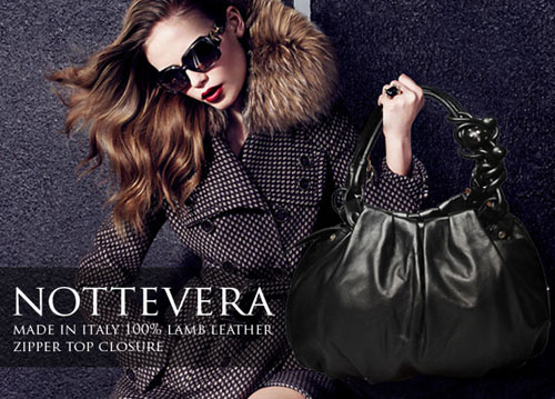Nottevera leather hand bags