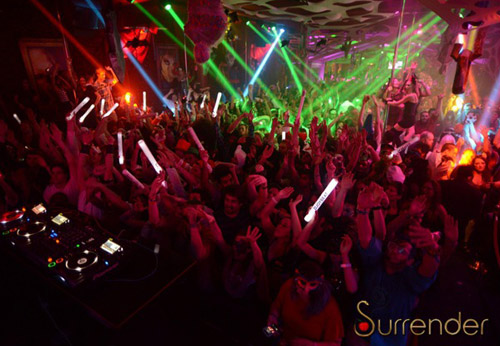 Surrender nightclub - Wynn Las vegas