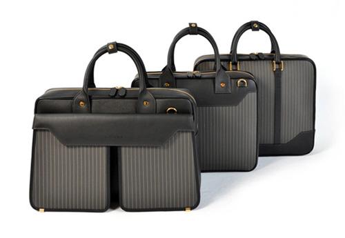 Aznom - Carbon Fiber & Gold Bag