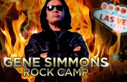 Gene Simmons at the Rock 'n' Roll Fantasy Camp