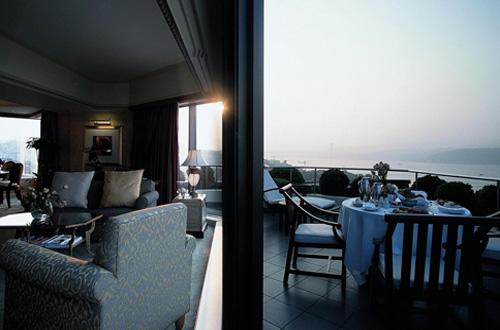 Swissotel The Bosphorus Istanbul luxury hotel balcony