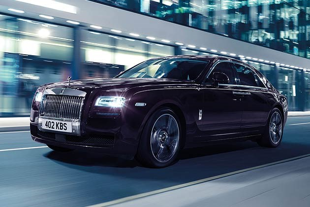 2014 Rolls-Royce Ghost V-Specification Luxury Sedan