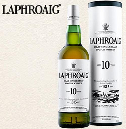 Laphroaig 18-Year-Old Scotch Whisky