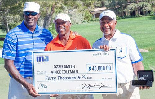 Michael Jordan Celebrity Invitational golf tournament
