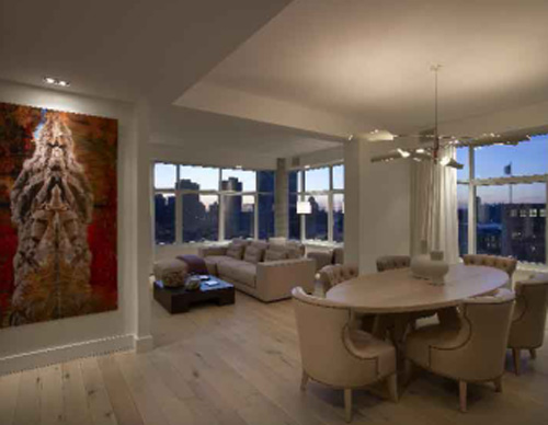 The James New York hotel luxury penthouse