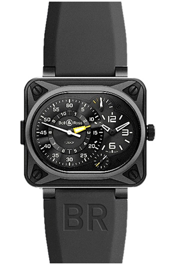 Bell & Ross BR Minuteur Tourbillon Titanium Mens Watch