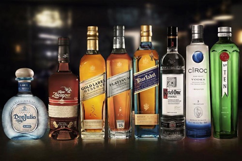 Diageo Reserve World Class reserve collection