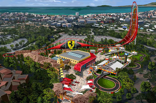 Ferrari Land - New Luxury Theme Park Coming to Spain