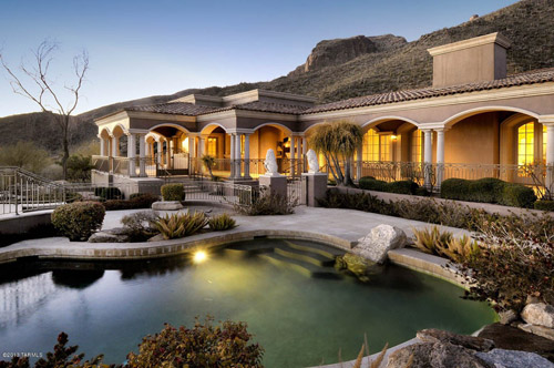 luxury mansion Tucson Arizona