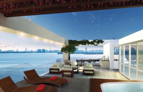 luxury private condo residences in Miami, Florida
