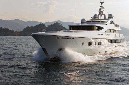 Motor Yacht TURQUOISE luxury yacht