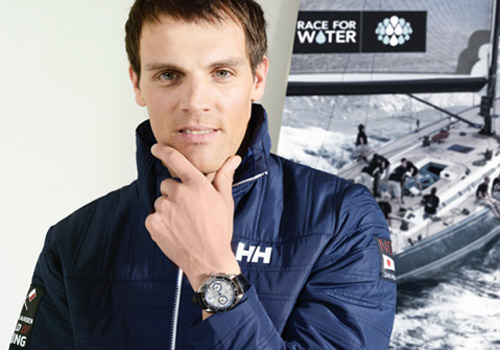 "Aurélien Ducroz - Alpiner ""4"" Chronograph ""Race for Water"" by Alpina"