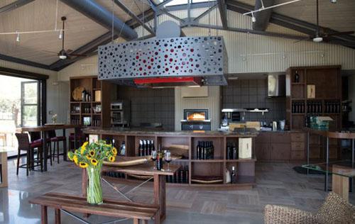 B Cellars Oakville Winery - tasting room