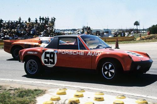 Porsche 914-6GT car