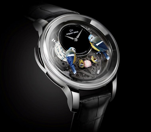 Jaquet Droz Bird Repeater Openwork watch