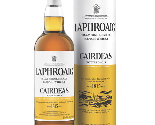 Laphroaig Cairdeas Amontillado scotch whisky